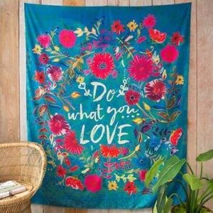 Natural Life - Do What You Love Tapestry/Blanket